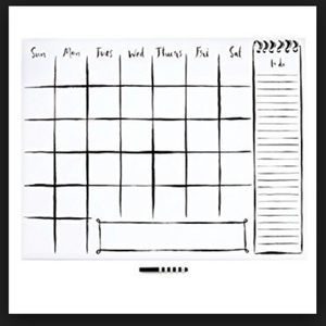 Kate spade wall decal calendar with marker nwt